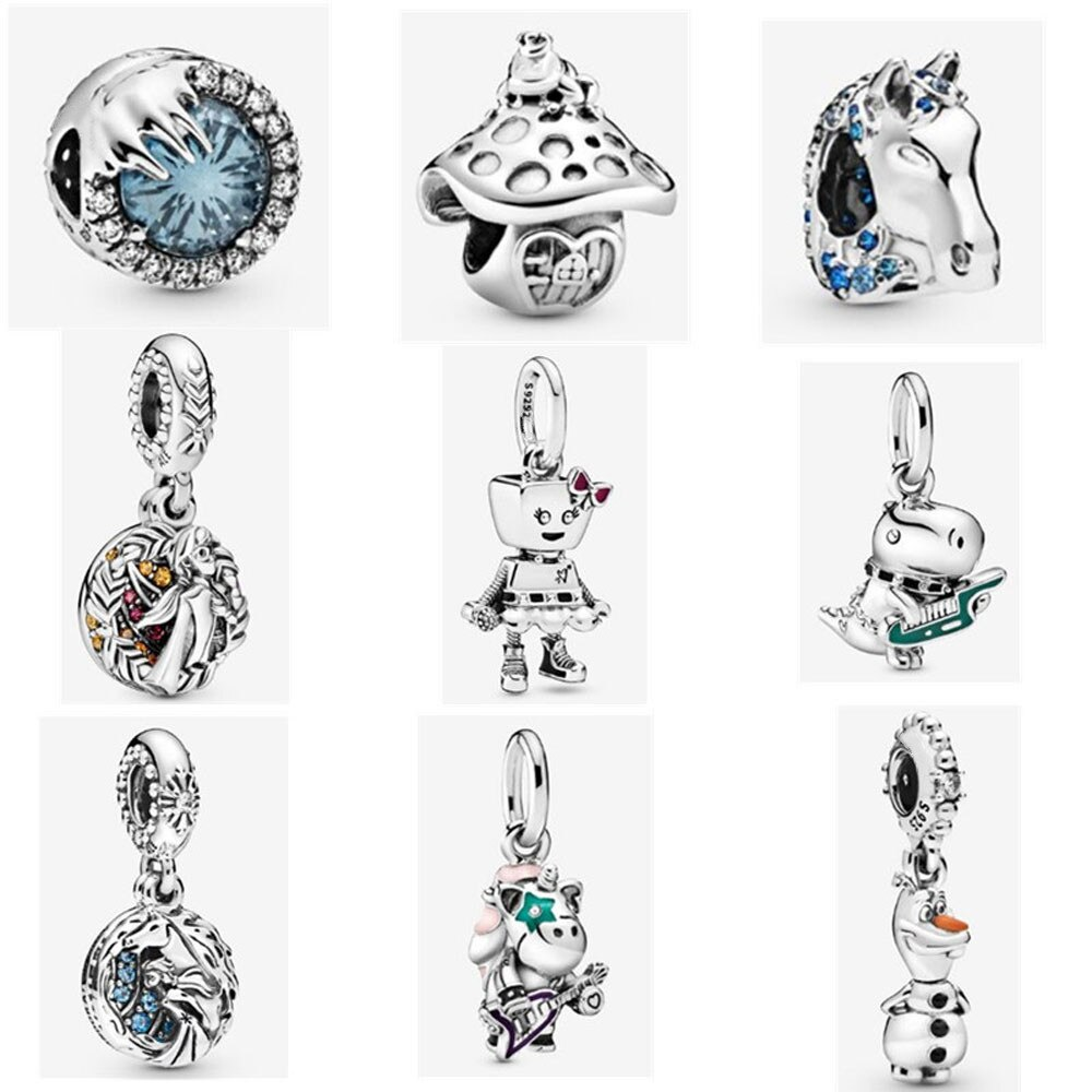 2019 New Aniaml Character Charms 925 Sterling Silver Duck Music Drog  Pendant Beads For Bracelets Jewelry Accessories From Homejewelry, $21.54.