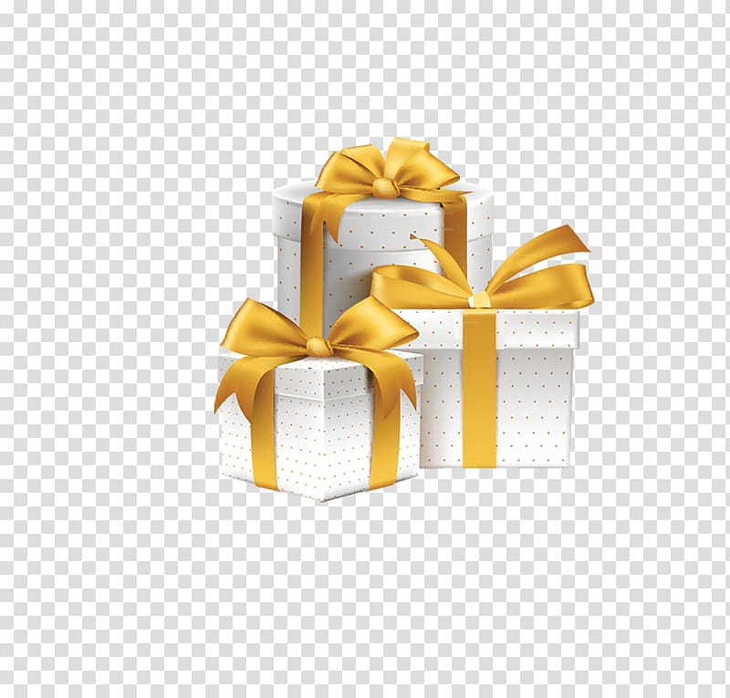 Gift , Silver gift box transparent background PNG clipart.
