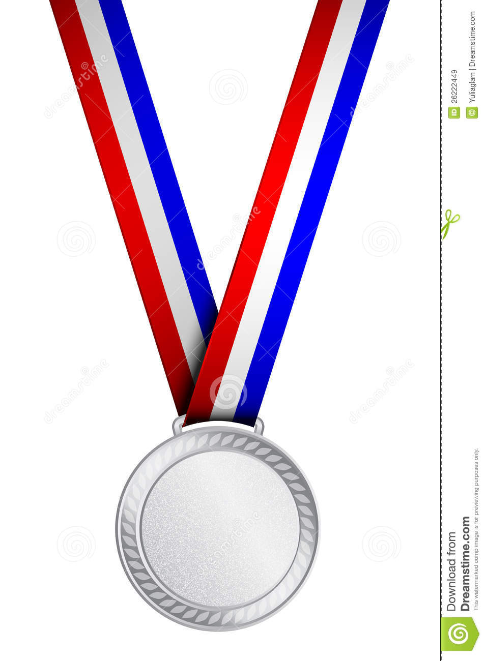 Silver medal clipart 1 » Clipart Station.