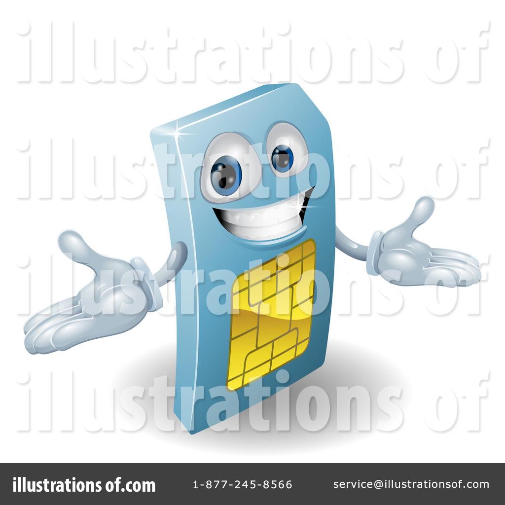 Sim Card Clipart #1103886.