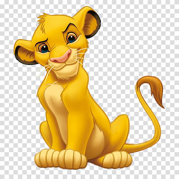 The Lion King Simba Mufasa Nala, lion transparent background.