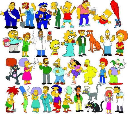 Simpsons+Characters+Names.