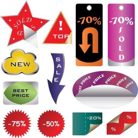 Ücretsiz Alışveriş siteleri dekoratif grafik çeşitli Küçük.