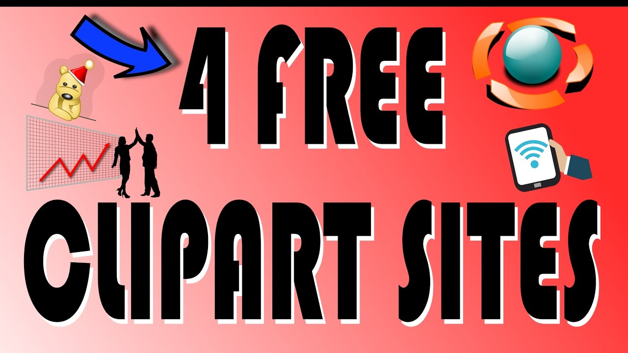 4 Free Clipart Sites.