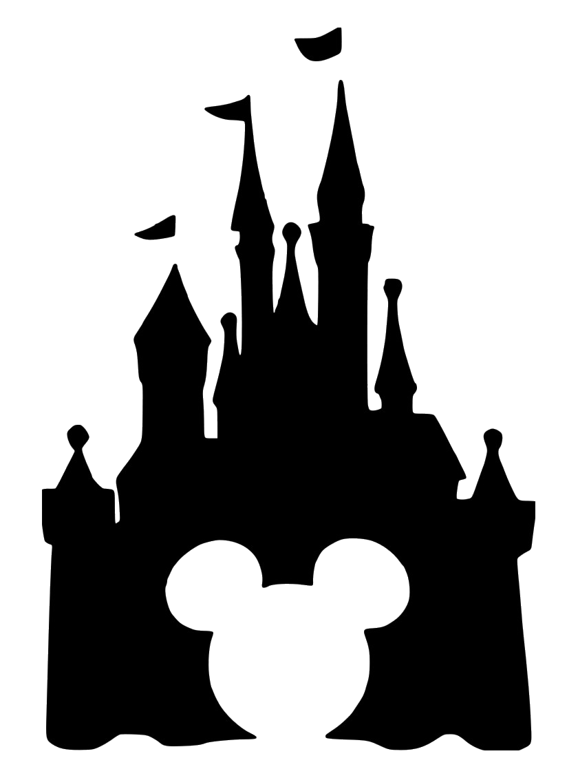 Disney Castle Ears File Size Silhouette On Clipart Png.