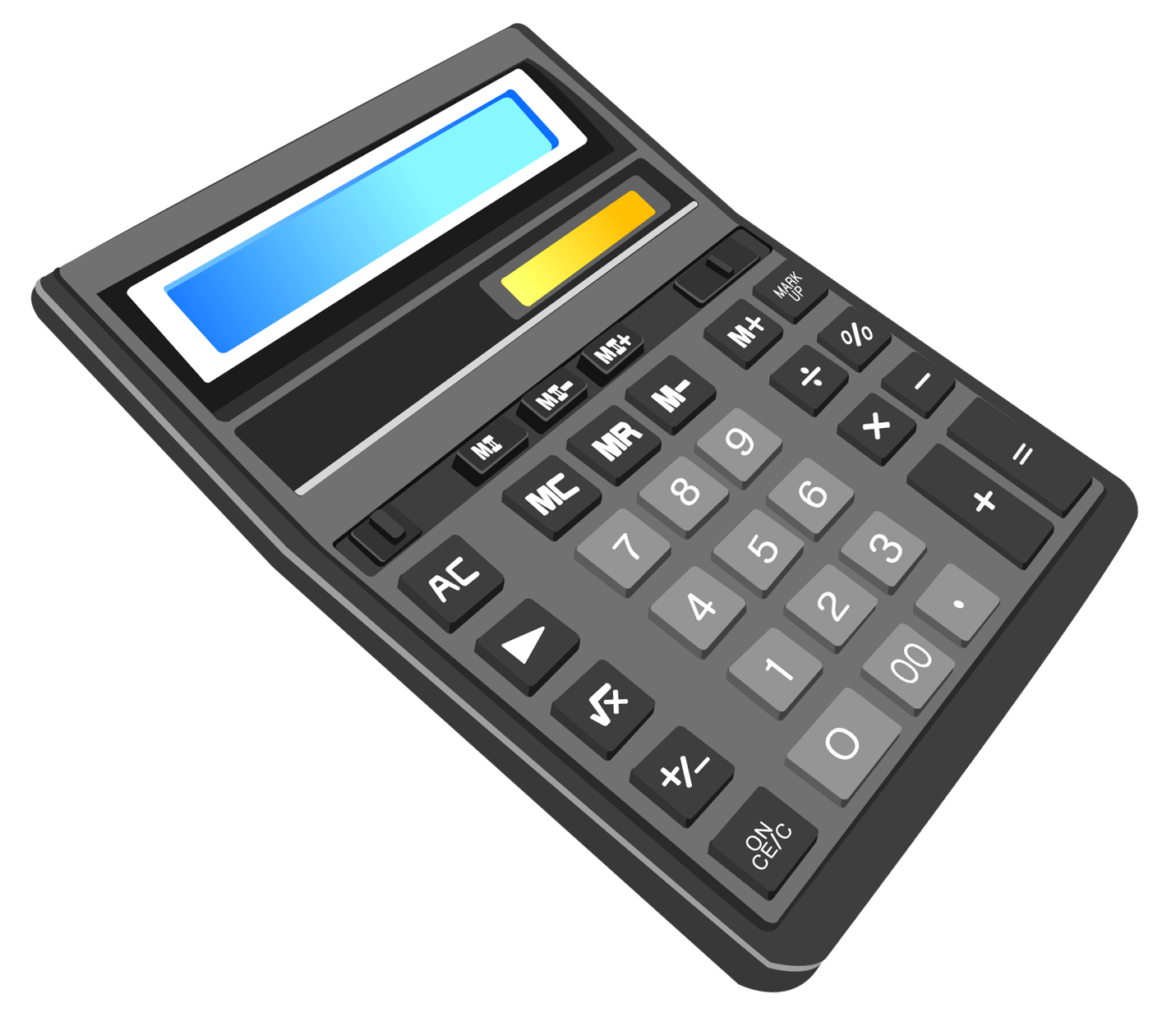 Calculator Transparent PNG Clipart.