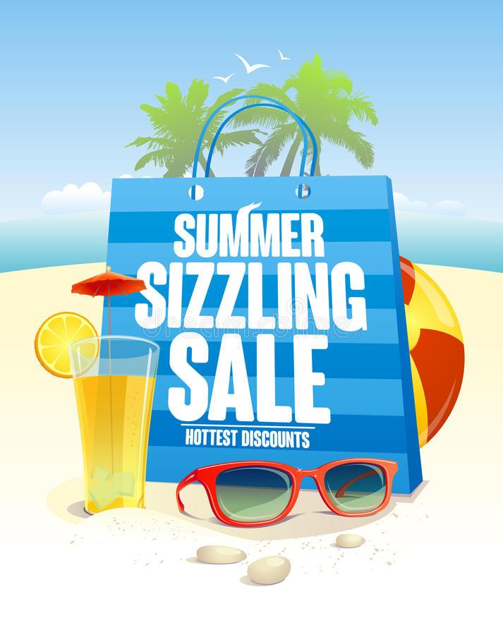 Sizzling Summer Stock Illustrations.