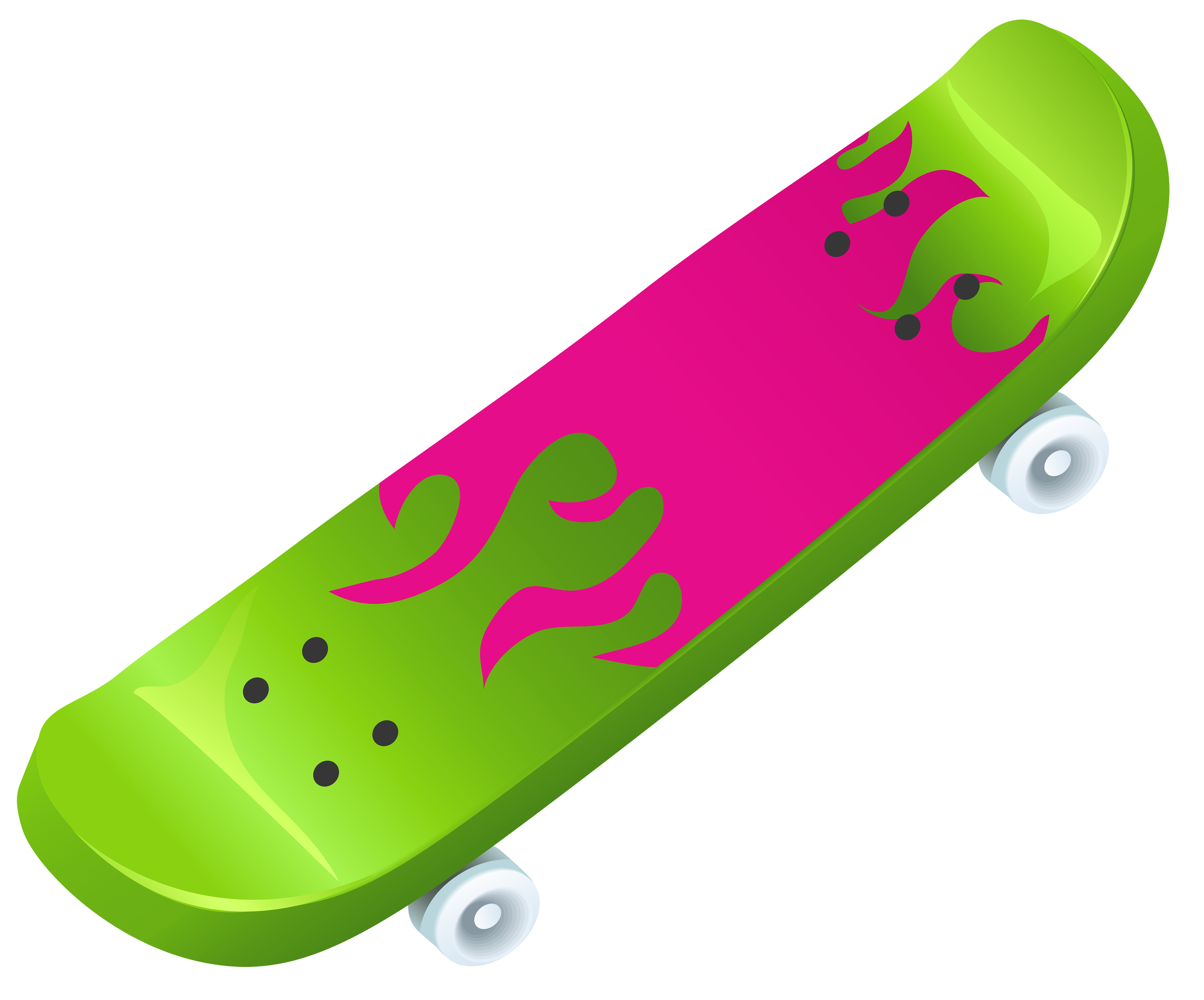 Image of skateboard clipart 8 2 clip art at vector.