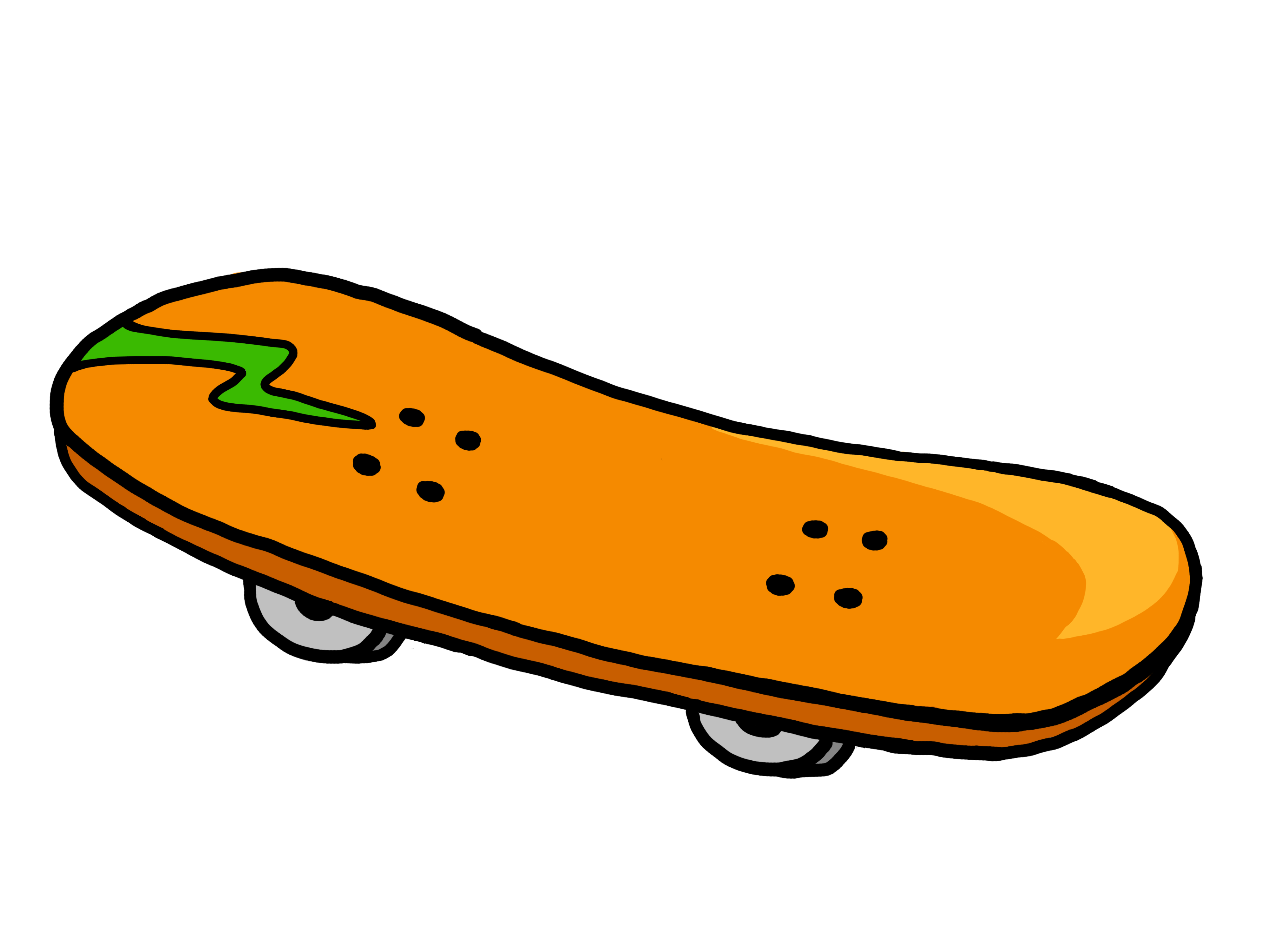 Download High Quality skateboard clipart animated.