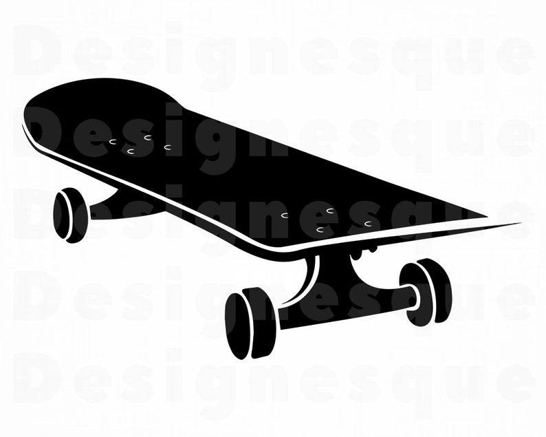 Skateboard SVG, Skateboarding Svg, Skateboard Clipart, Skateboard Files for  Cricut, Skateboard Cut Files For Silhouette, Dxf, Png, Eps, Svg.