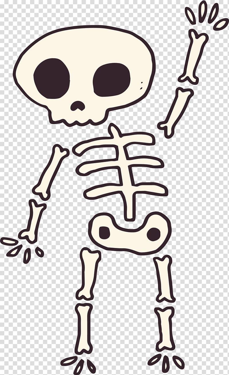 Human skeleton Computer file, Hello, skeleton monster.