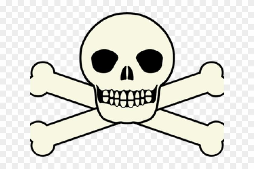 Skeleton Head Clipart Pirate Skull.