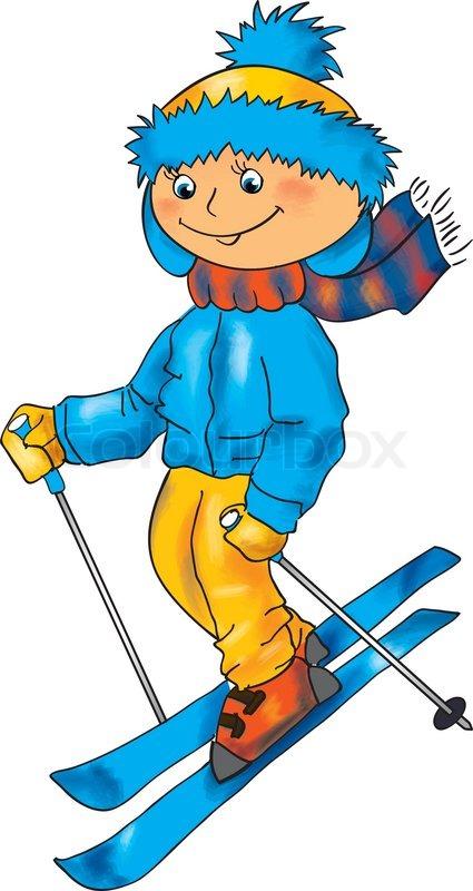 Skifahren clipart 3 » Clipart Station.