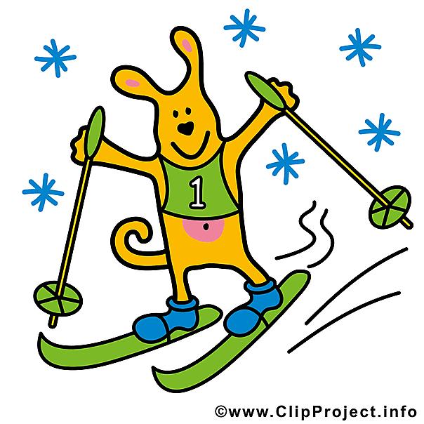 Skifahren clipart kostenlos 5 » Clipart Station.