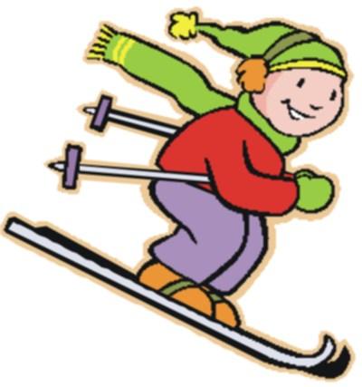 Skifahren clipart kostenlos » Clipart Station.