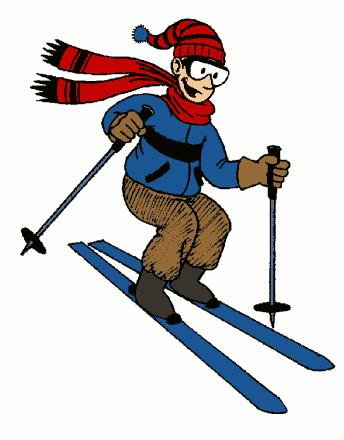 1119 Ski free clipart.