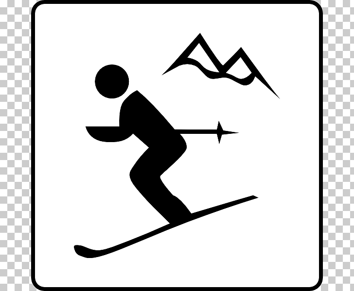 Alpine skiing , Skis PNG clipart.