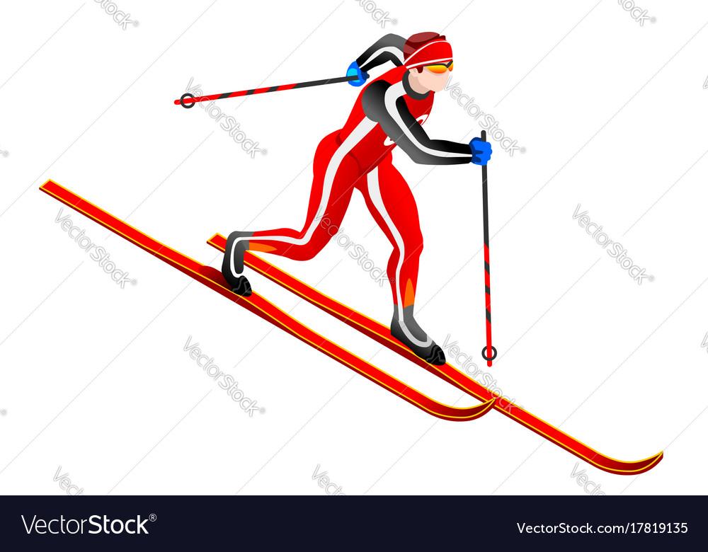 Ski cross.