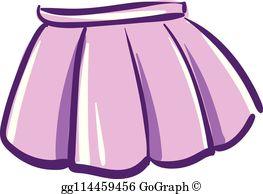 Mini Skirt Clip Art.