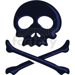 skull vector clipart no background . Royalty.