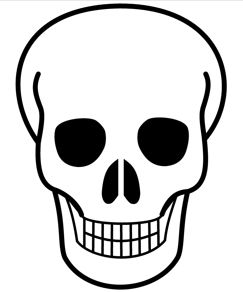 Free Simple Skull Cliparts, Download Free Clip Art, Free.