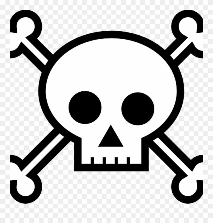 Download Skull And Crossbones For Pirates Clipart Skull.