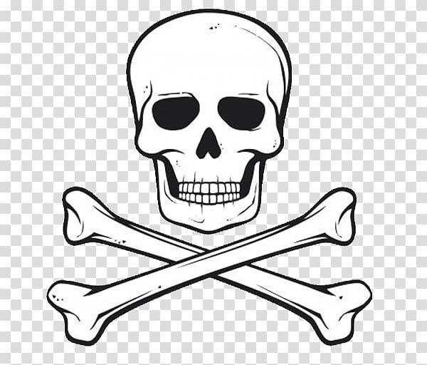 Skull And Crossbones transparent background PNG cliparts.