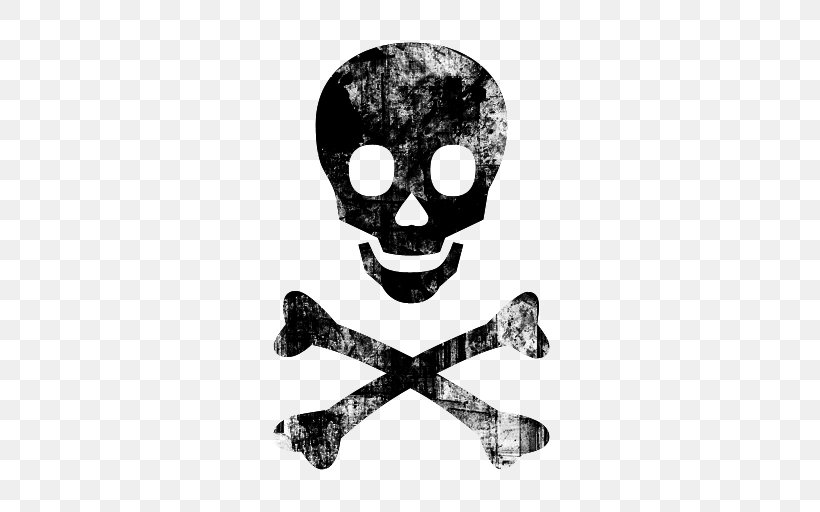 Skull And Bones Skull And Crossbones Clip Art, PNG.