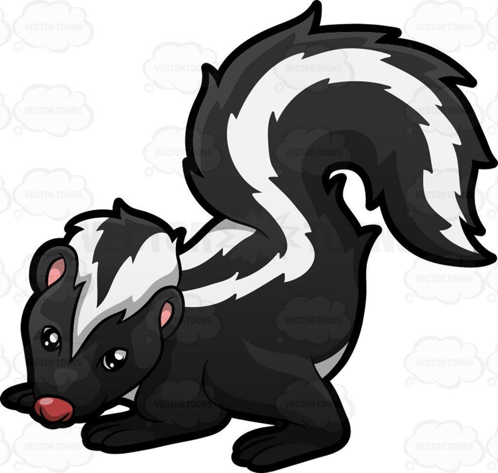 Clipart skunk 7 » Clipart Portal.