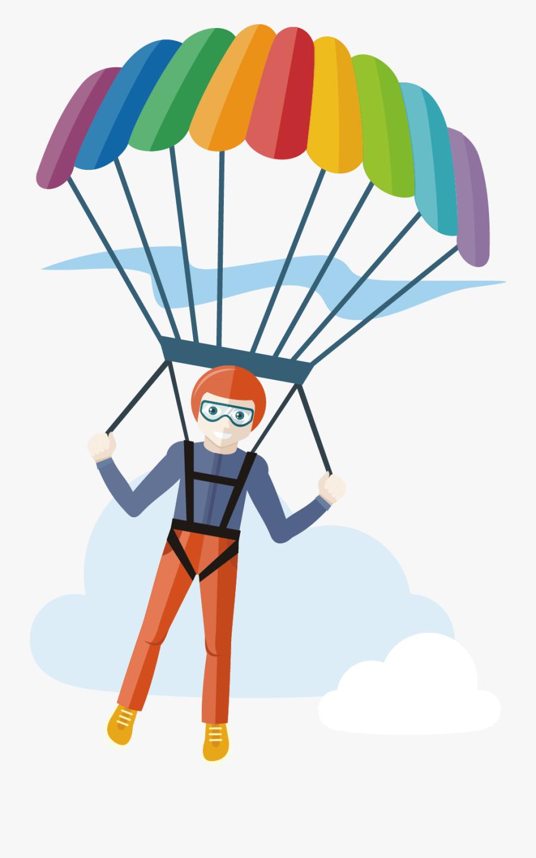 Transparent Parachute Png.