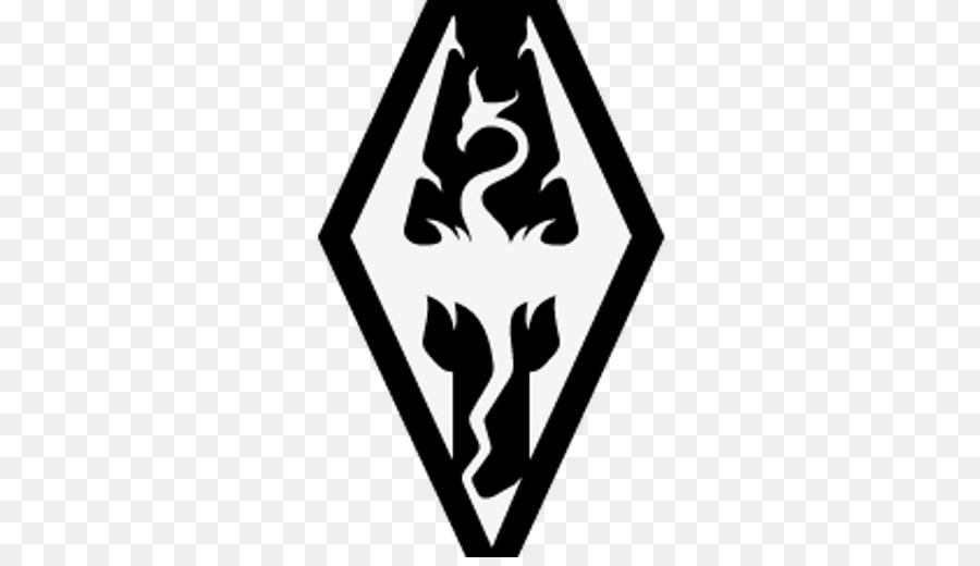 Skyrim Logo clipart.