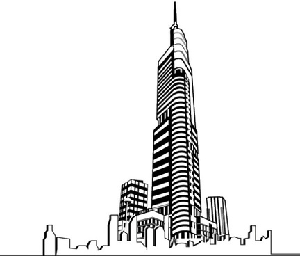 Skyscraper clipart free vector download (3,233 Free vector) for.