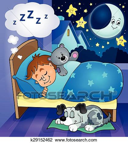 Sleeping child theme image 6 Clipart.