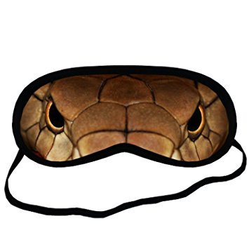 Amazon : LZME147 Wild Animal COBRA SNAKE Eyes Sleeping Eye.