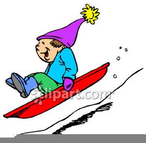 Christmas Sleigh Ride Clipart.