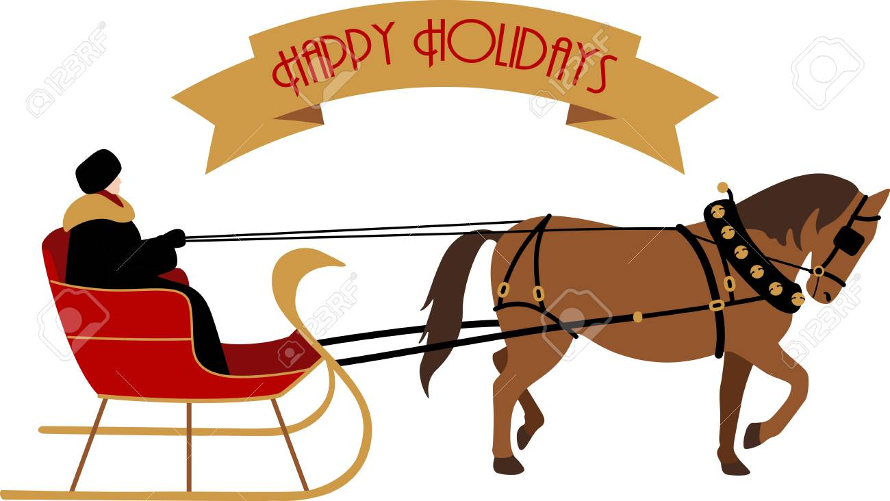 Everyone will enjoy a sleigh ride for the holidays..