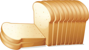 Sliced Bread Free Clipart.