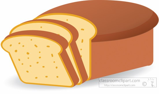 Loaf sliced bread clipart » Clipart Portal.