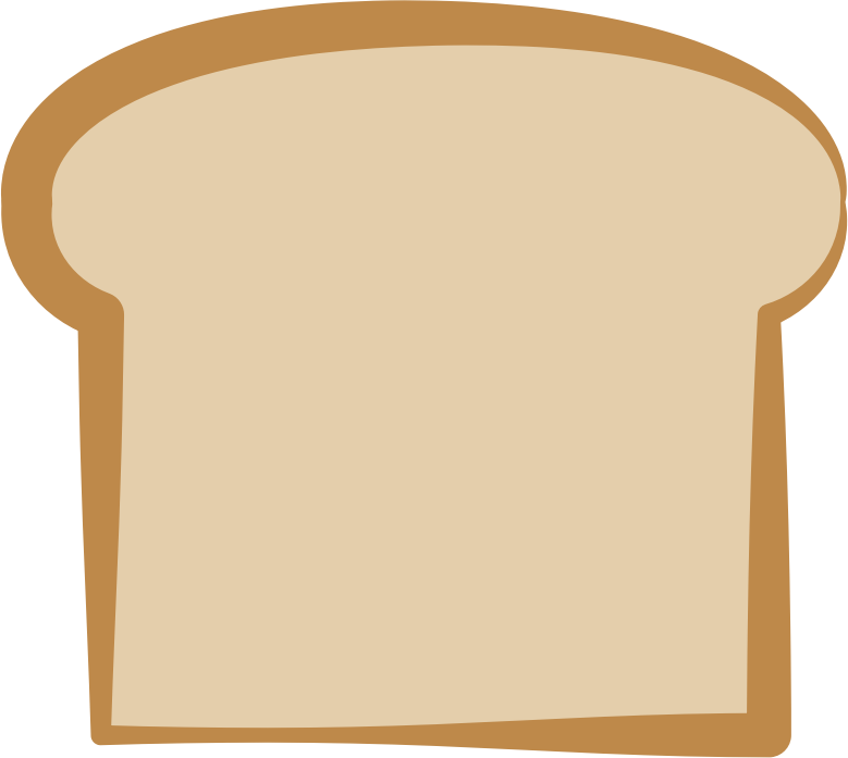 Clipart bread sliced bread, Clipart bread sliced bread Transparent.