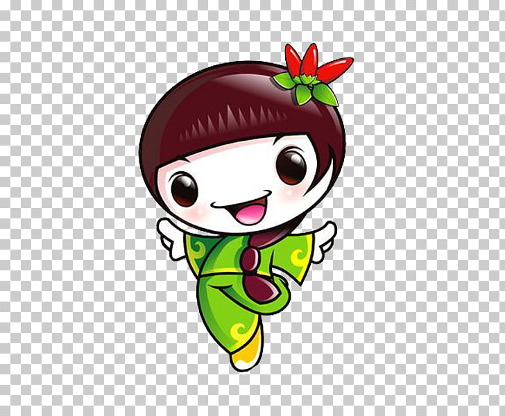 Olympic Forest Park Cartoon Illustration, Slick chick PNG.
