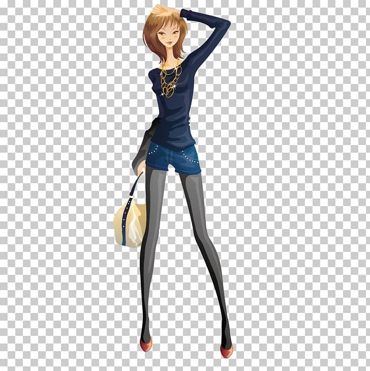 Fashion Woman , Slim woman PNG clipart.