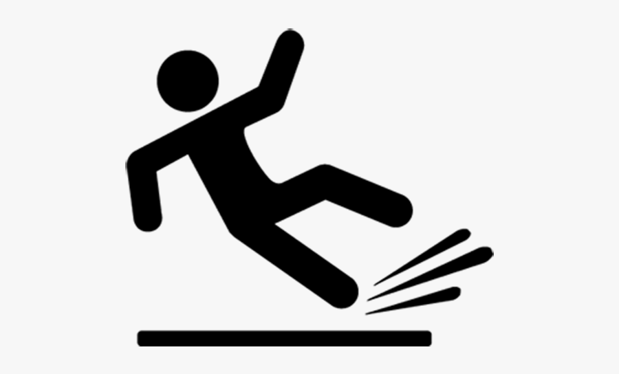 Slip And Fall Png , Free Transparent Clipart.
