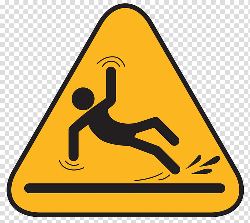 Slip And Fall transparent background PNG cliparts free.