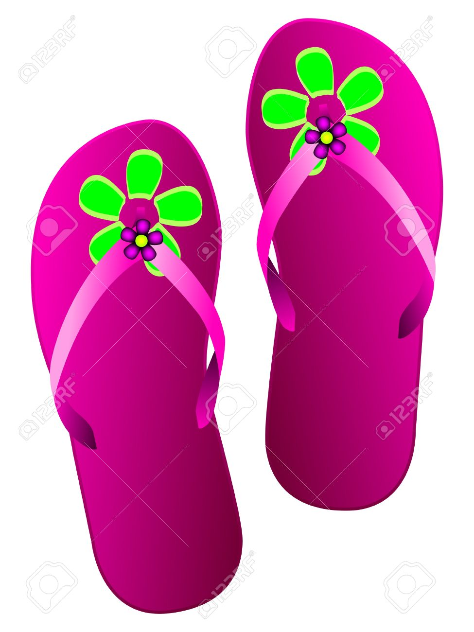Clipart slippers 3 » Clipart Station.