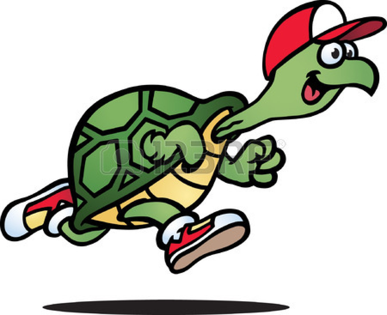 Slow Turtle Clipart.