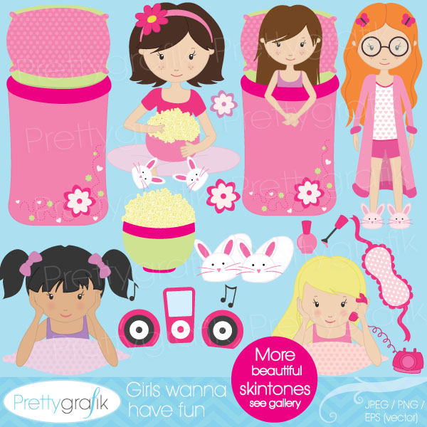 Free Slumber Party, Download Free Clip Art, Free Clip Art on.