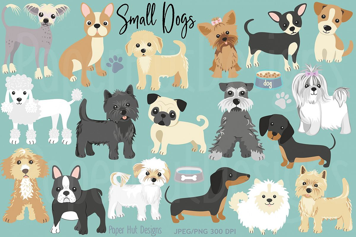 Small Dog Clipart.