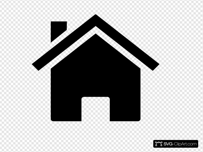 Small House Clip art, Icon and SVG.