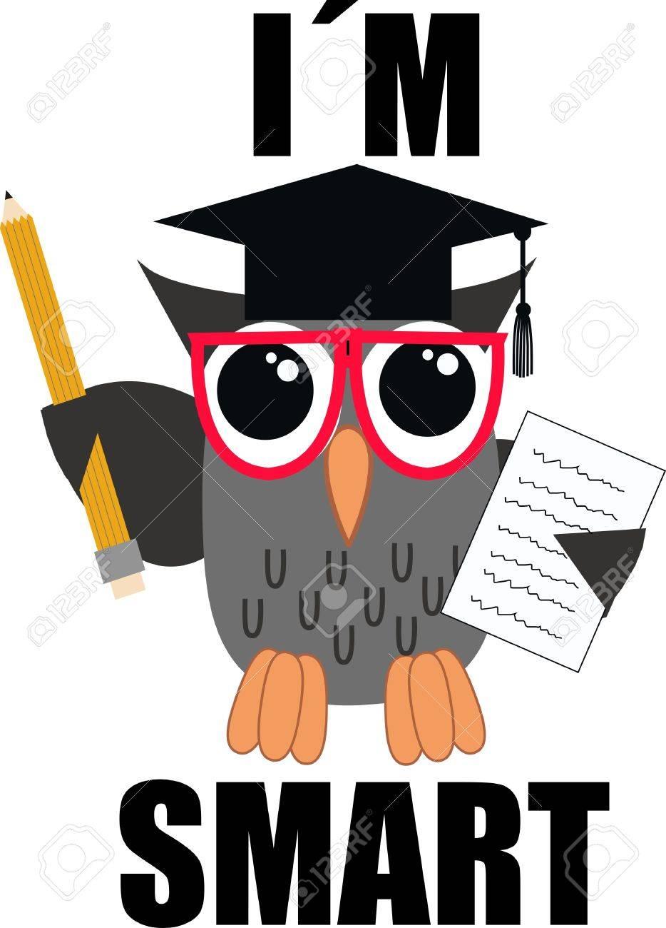 a smart owl.