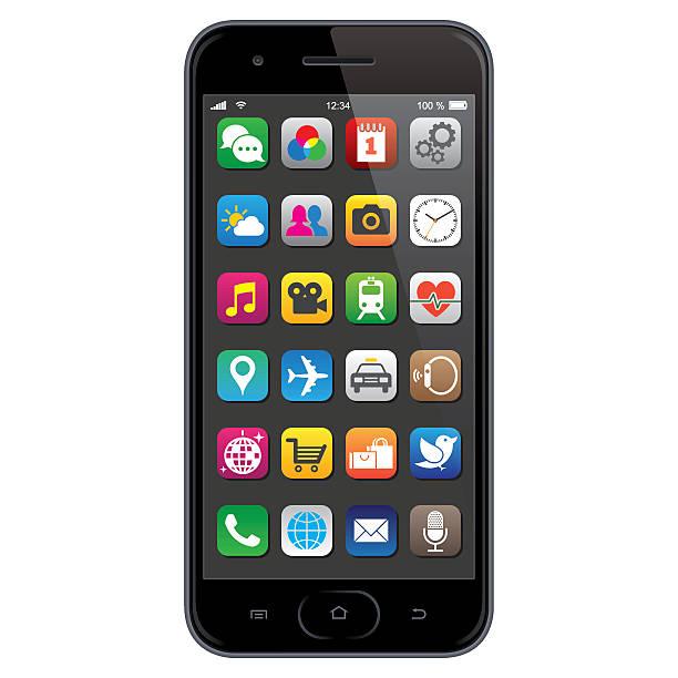 Clip Art Mobile Phone.